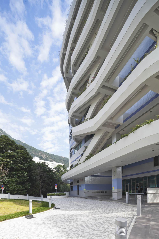 香港大學香港賽馬會跨學科研究大樓