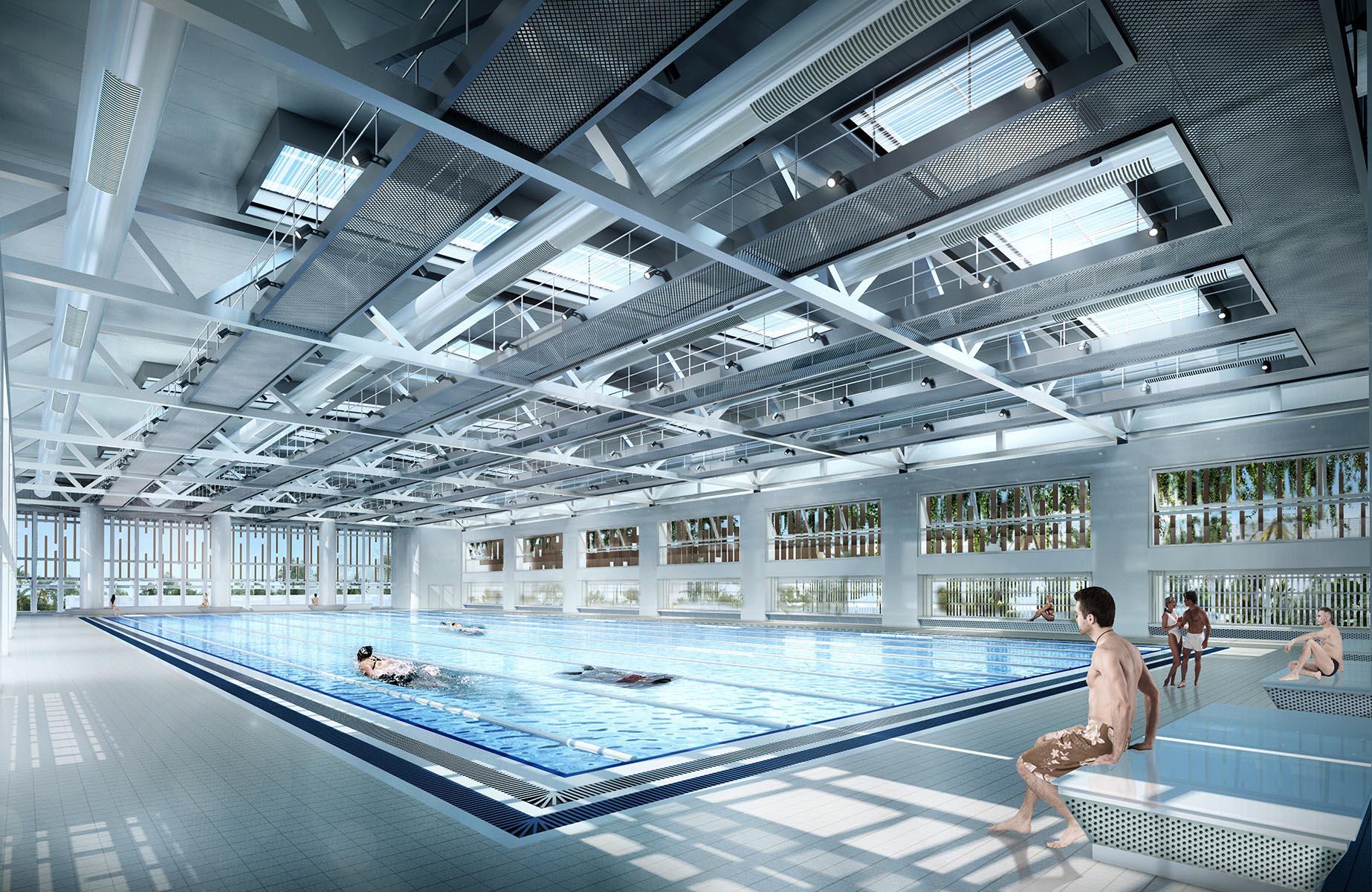 摩士公园游泳池改建工程