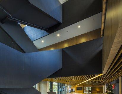 香港中文大學 伍宜孫書院(室內設計)