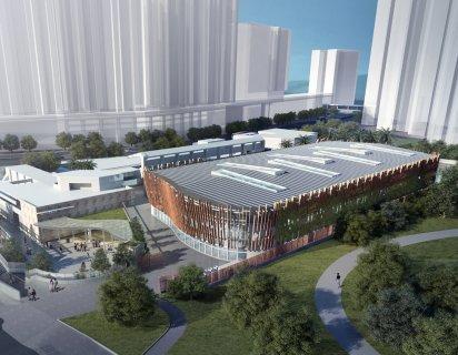 摩士公園游泳池改建工程