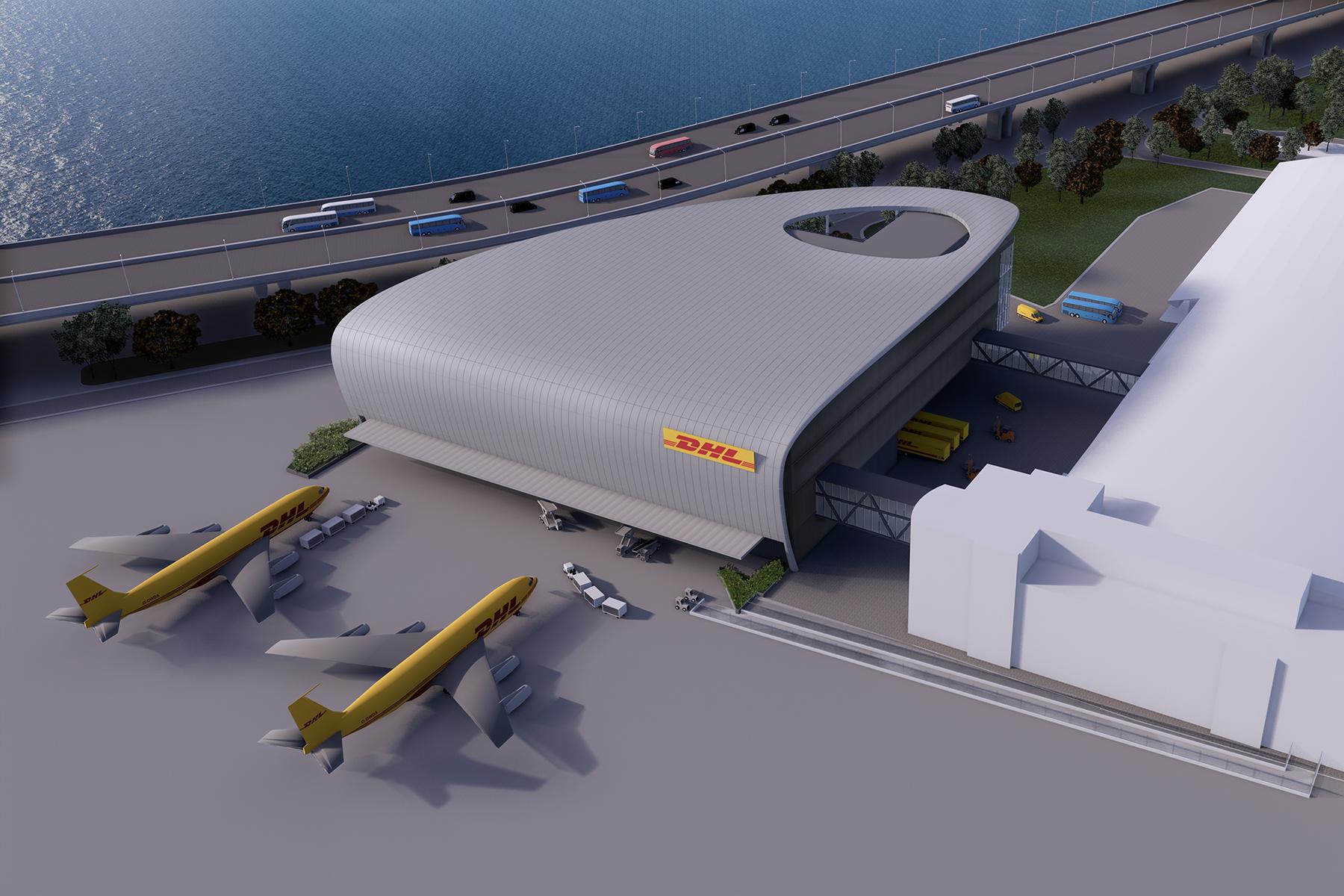 DHL中亚枢纽中心三期工程