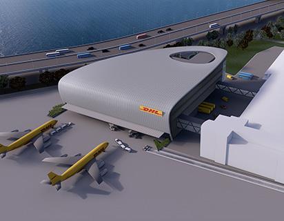 DHL中亞樞紐中心三期工程