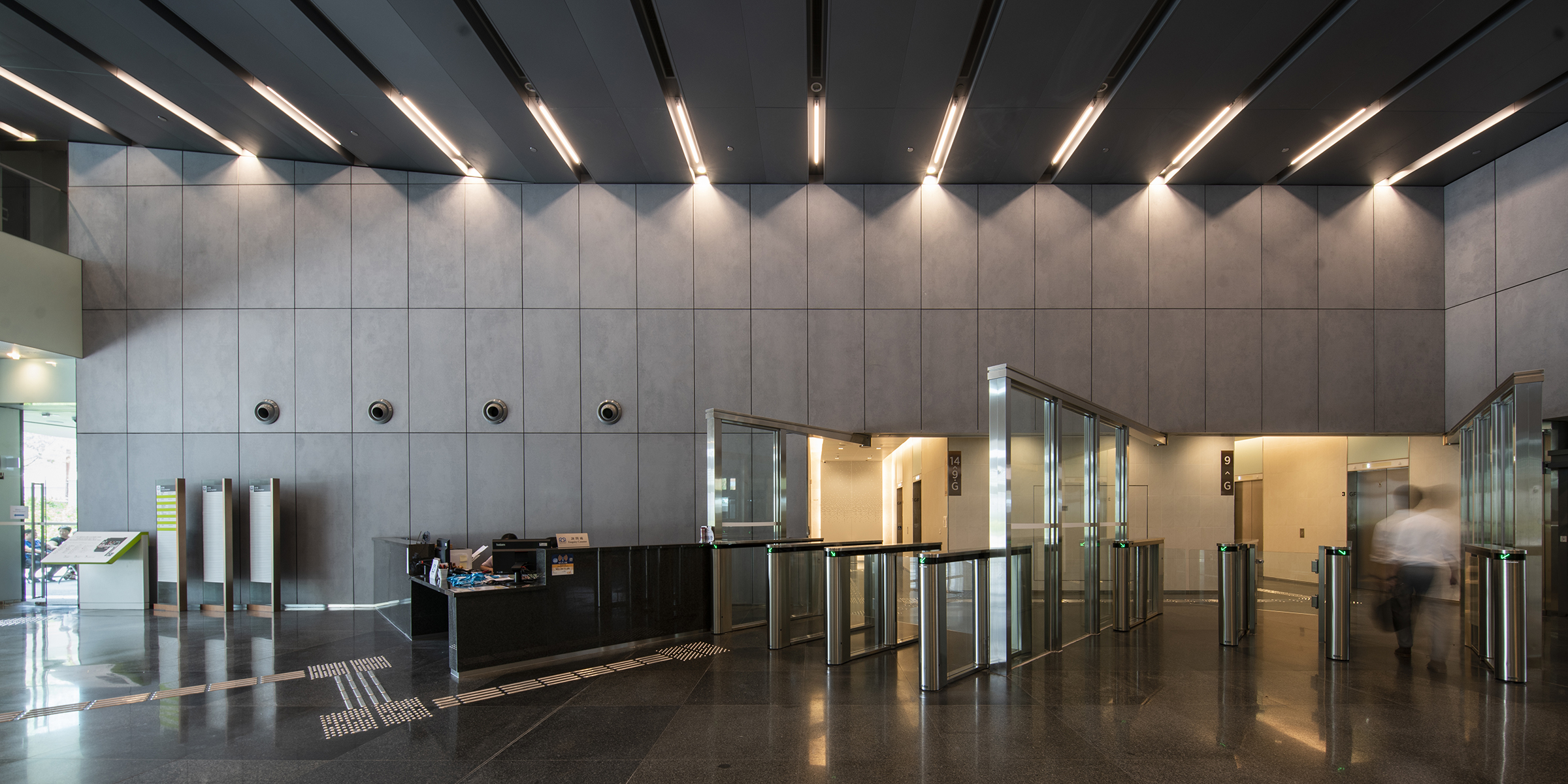 WEST KOWLOON GOVERNMENT OFFICES IN YAU MA TEI (INTERIOR)