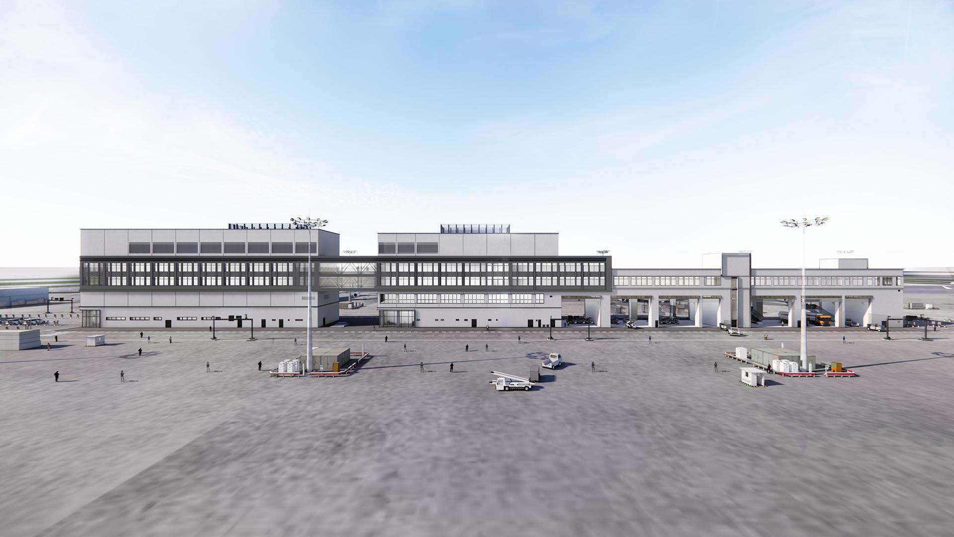 HONG KONG INTERNATIONAL AIRPORT DATA CENTRE AND MULTIPURPOSE BUILDING - C19W05