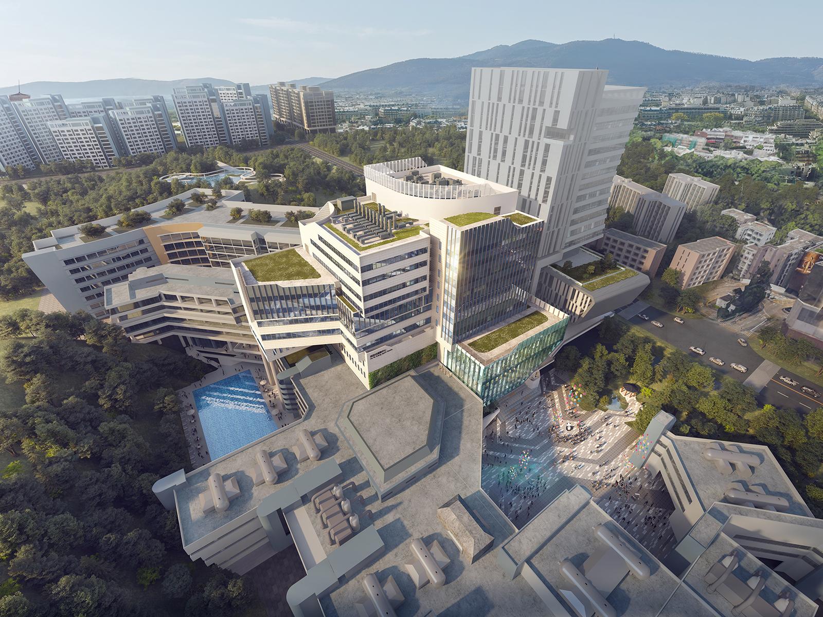 香港城市大学赛马会大楼